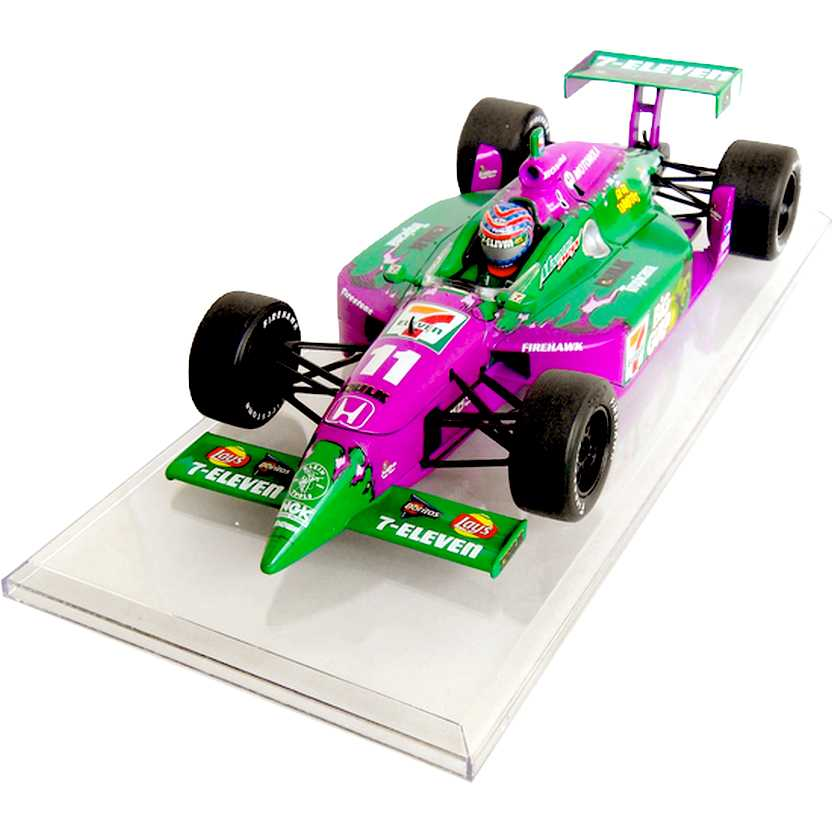 Action Racing escala 1/18 - Tony Kanaan Hulk 7 Eleven Honda (2003) Dallara 1 of 1272