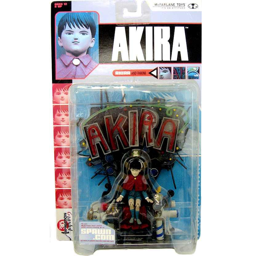 Akira no trono - 3D Animation marca McFarlane action figures