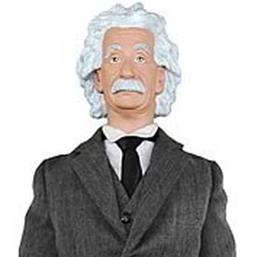 Albert Einstein TimeCapsule Toys Talking Action Figure ( com 30 frases )