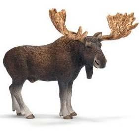 Alce Macho 14619 (Schleich 2011 Toys) Moose Bull