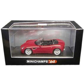 Alfa Romeo 8C Spider (2007) Minichamps escala 1/64 640120530