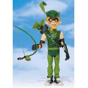 Alfred E. Neuman MAD Green Arrow (aberto)
