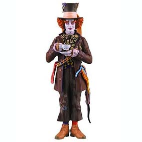 Alice In Wonderland - Johnny Depp (aberto) Chapeleiro Maluco