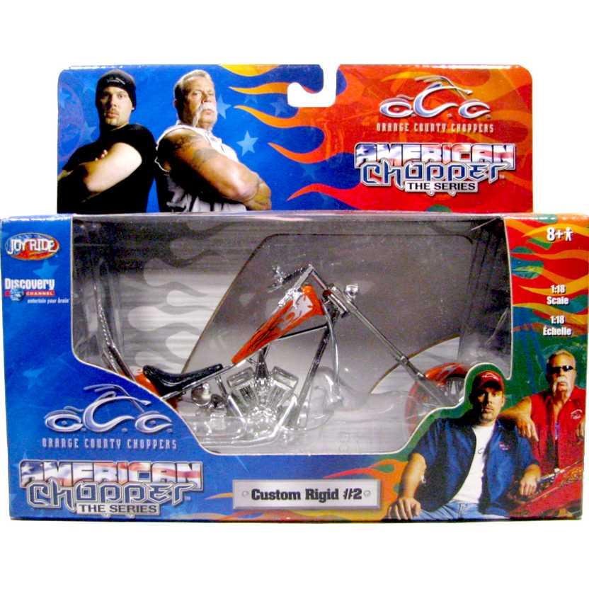 American Chooper The Series - Custom Rigid #2 escala 1/18 - Orange County Choopers