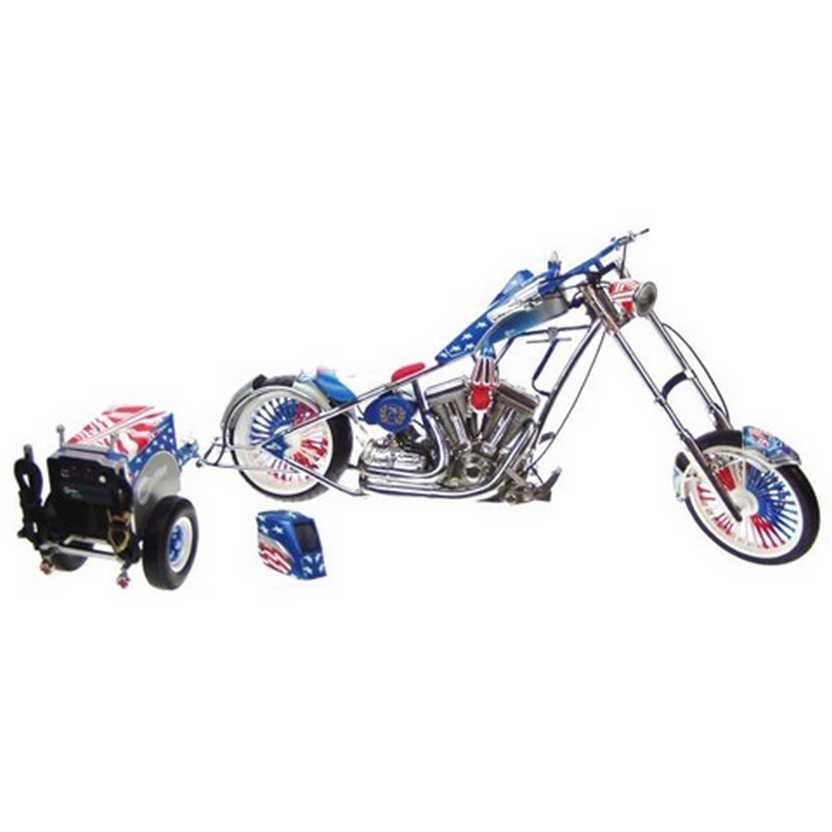 American Chooper TV Series - Miller Welder Bike ERTL escala 1/10 - Orange County Choopers