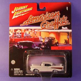 American Graffiti - Chevy Bel Air (1957) da Johnny Lightning escala 1/64
