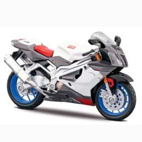 Aprilia RSV 1000R miniatura de moto Maisto escala 1/18