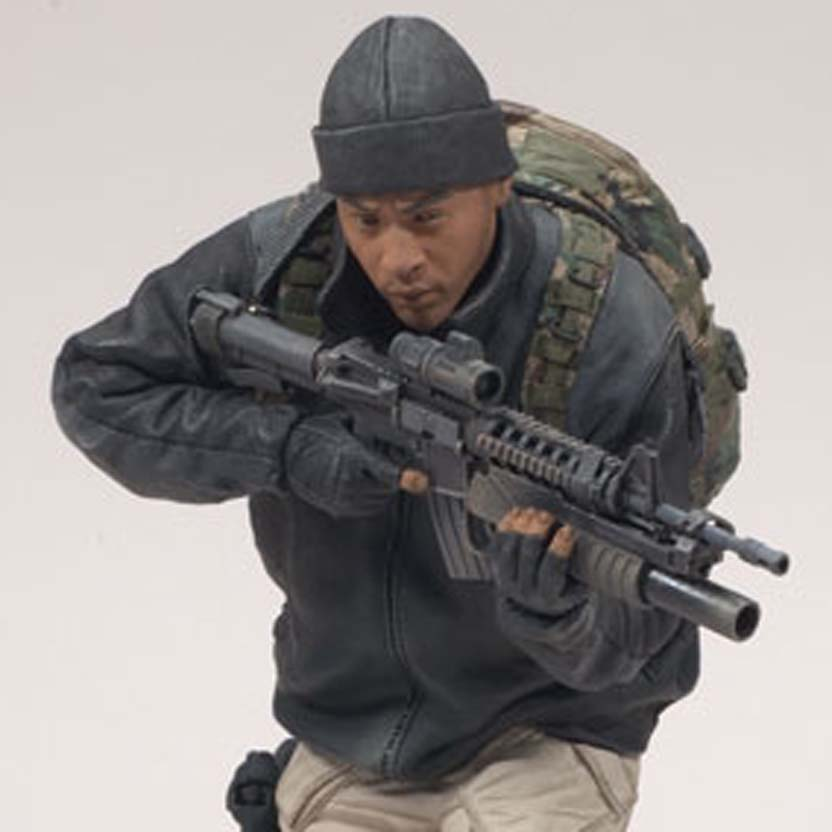 Army Special Forces Operator (série 5) African American RARO