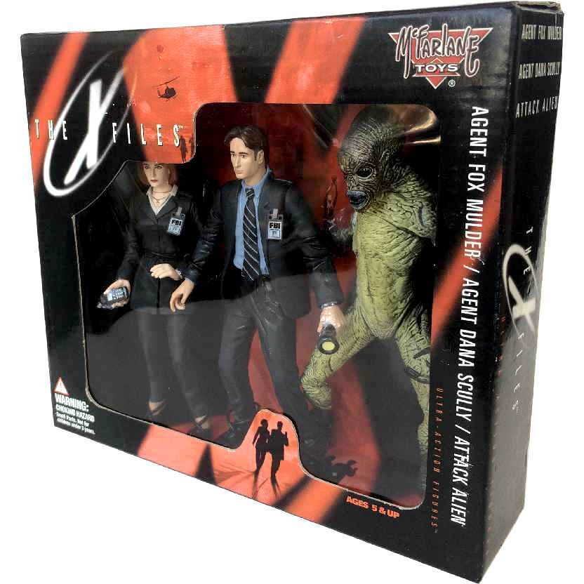 Arquivo X (Fox Mulder , Dana Scully + Alien) The X Files McFarlane Toys