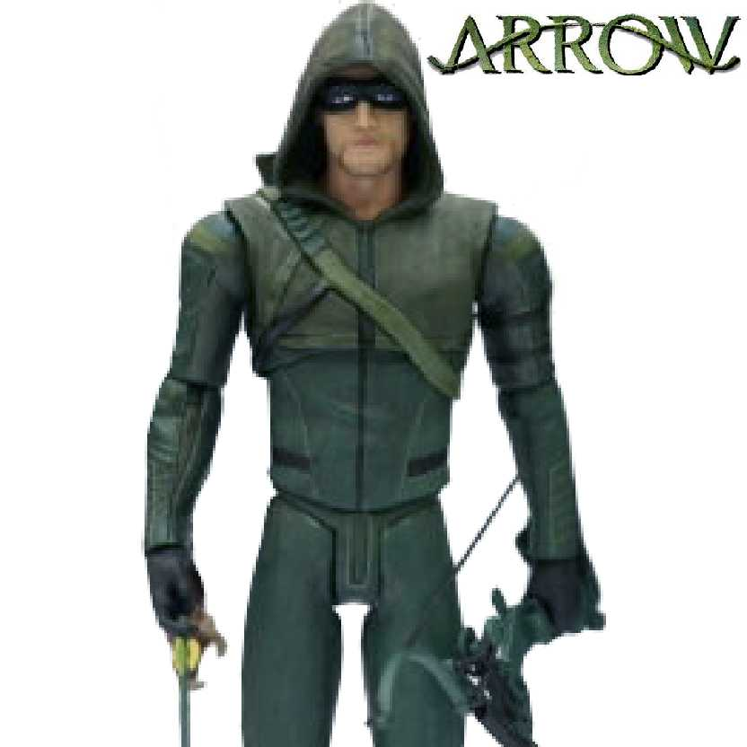 Arrow TV series - Arqueiro Verde - Oliver Queen (Stephen Amell)  DC Collectibles #10 action figure
