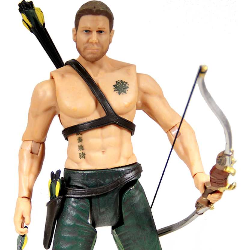 Arrow TV Series - Green Arrow & Totem Oliver Queen (Arqueiro Verde) DC Collectibles
