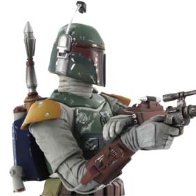 Art FX Boba Fett Return of The Jedi Cloud City Kotobukiya Star Wars (Guerra nas Estrelas)