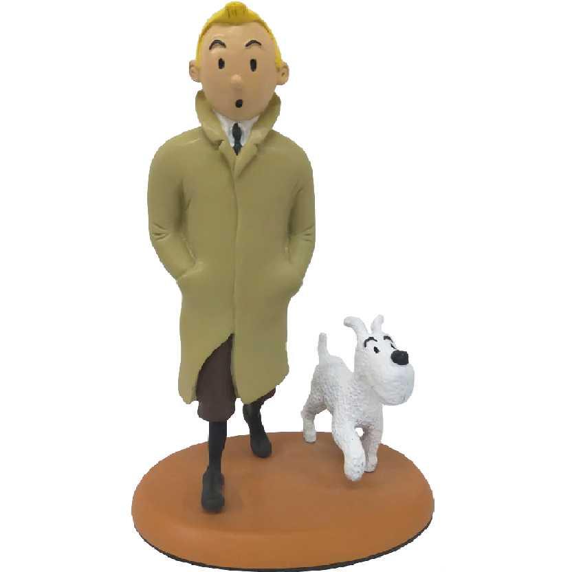 As Aventuras de Tintin e Milu - bonecos em resina para colecionar