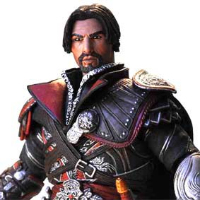 Assassins Creed Brotherhood : Ezio Ebony Unhooded Action Figure