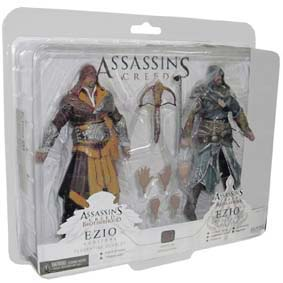 Assassins Creed Ezio Auditore Florentine Scarlet e Ezio Auditore Caspian Teal