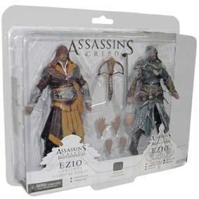 Assassins Creed Ezio Auditore Florentine Scarlet e Ezio Auditore Caspian Teal