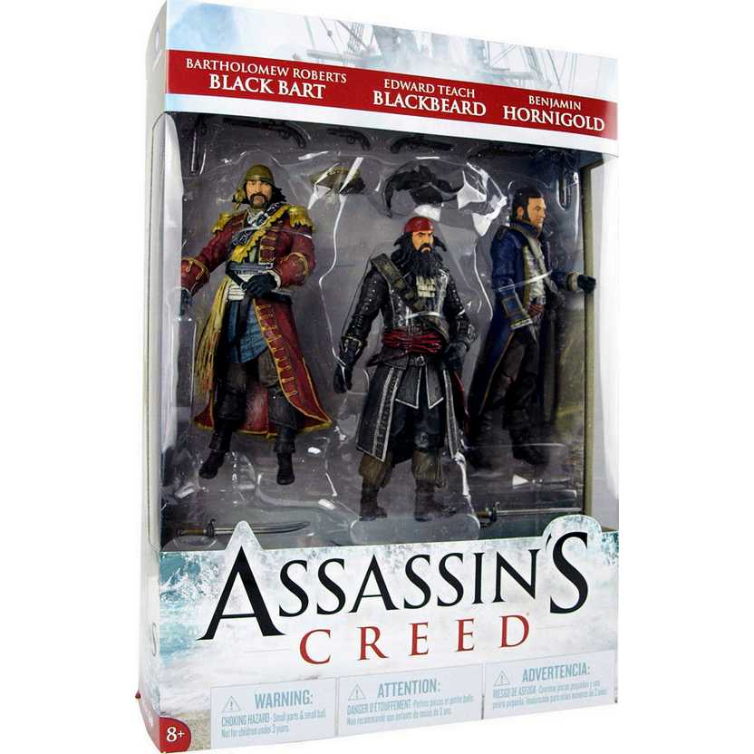 Assassins Creed IV - Golden Age of Piracy (Black Bart, Black Beard e Benjamin Hornigold)