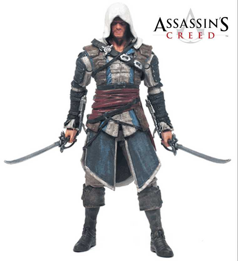 Assassins Creed IV series 1 Edward Kenway - McFarlane Toys Action Figures