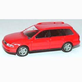 Audi A4 Avant rot