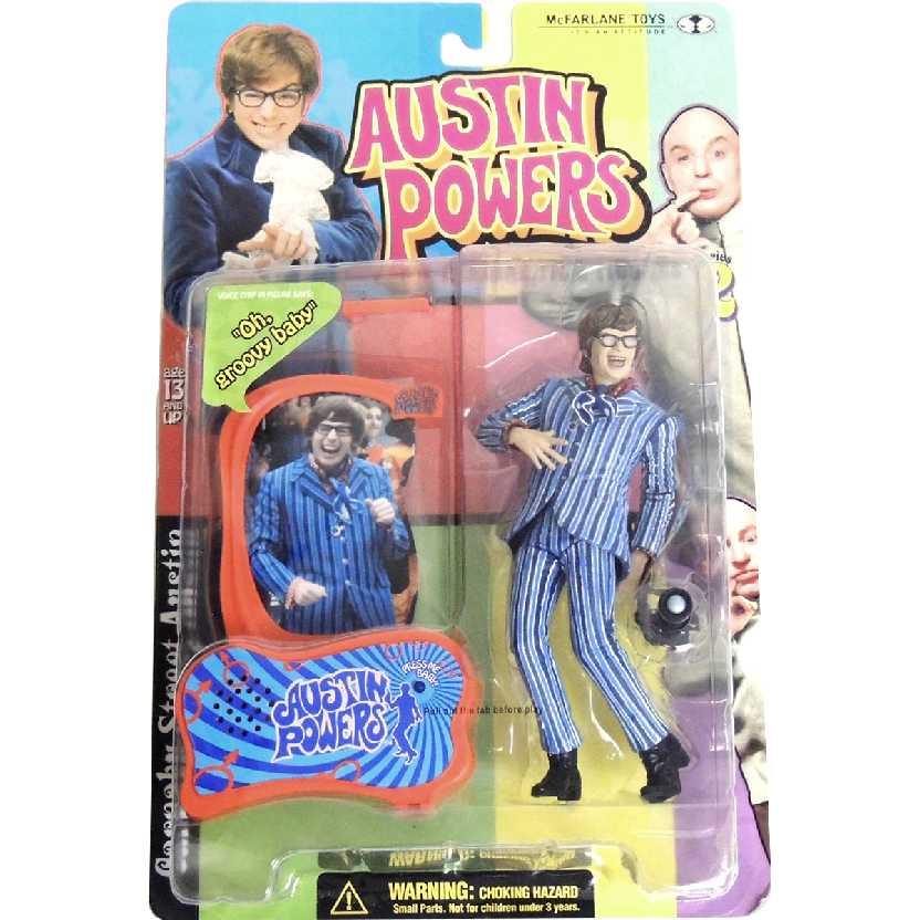 Austin Powers 1999 series 2 azul marca McFarlane Toys Action Figures