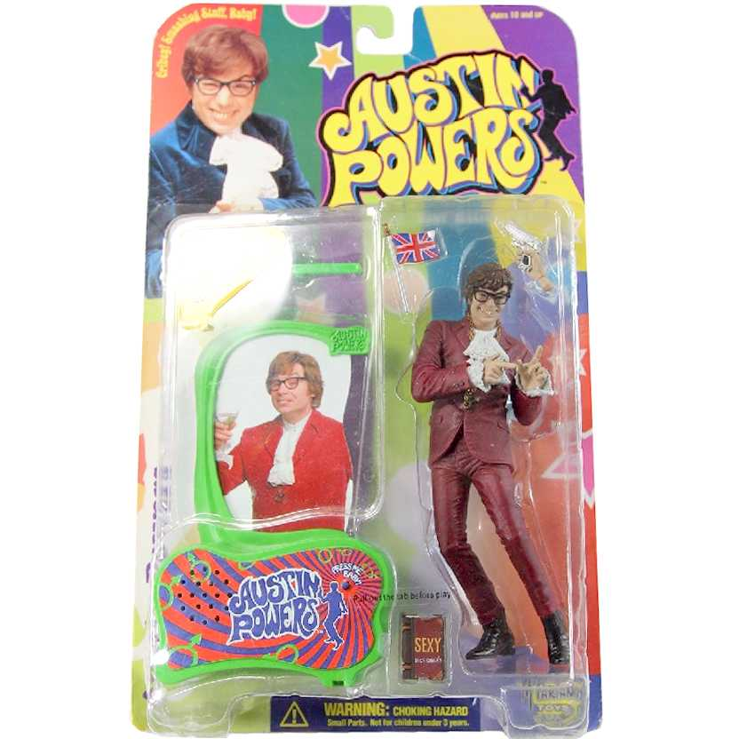 Austin Powers series 1 da marca McFarlane Toys action figures