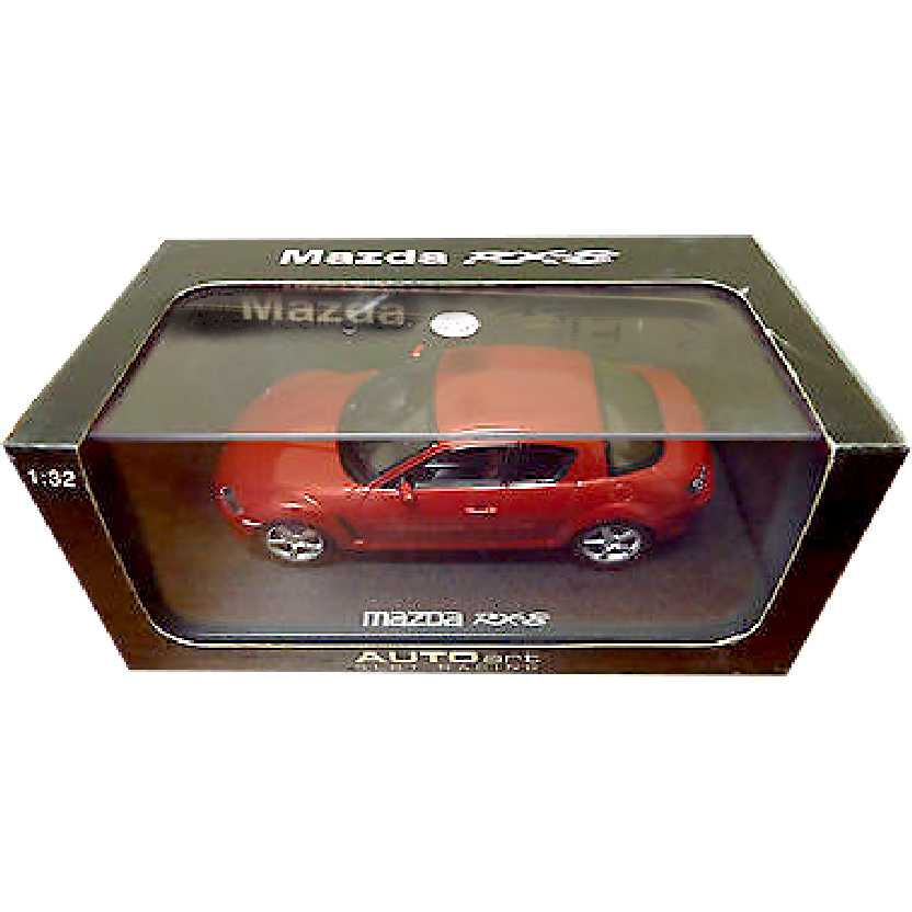 Autorama com luz marca AutoArt 13032 Mazda RX-8 Slot Car escala 1/32