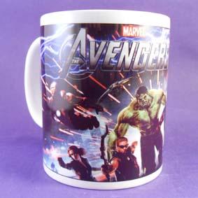 Avengers (Hulk, Thor, Capitão América, Homem de Ferro, Gavião Arqueiro e Viúva Negra)
