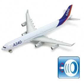 Avião Airbus A340 ( similar American Air Lines / TAM )