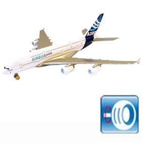 Avião Airbus A380 ( similar TAM / American / United / Emirates Air Lines )