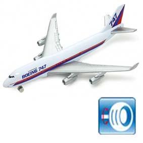 Avião Boeing 747 ( similar American Air Lines / VARIG )