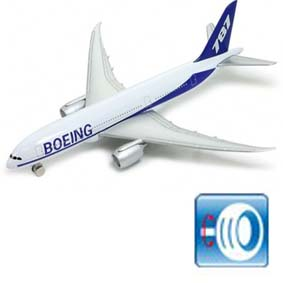 Avião Boeing 787 (similar American Air Lines / Gol)