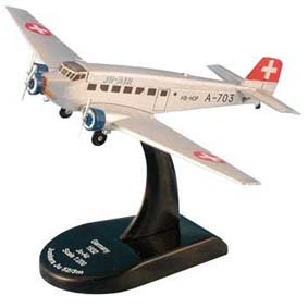 Avião Junkers JU 52/3M JU Air