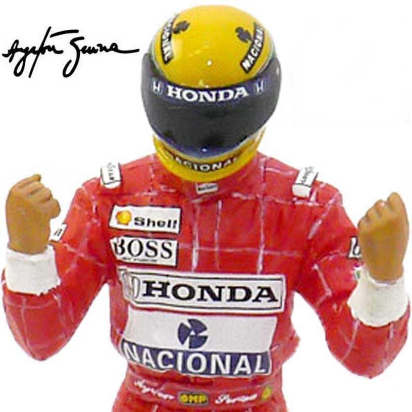 Ayrton Senna Brazil GP Winner escala 1/18 (1991) True Scale TSM Mclaren Honda