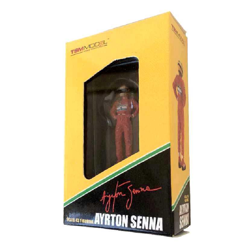 Ayrton Senna Brazil GP Winner escala 1/43 (1991) True Scale TSM Mclaren Honda