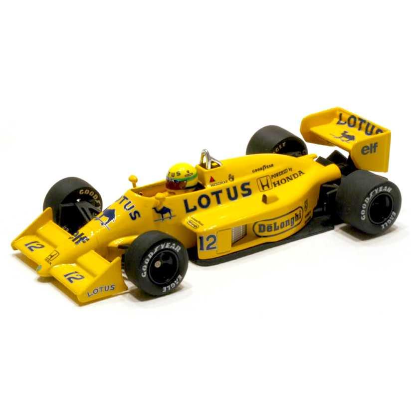 Ayrton Senna Lotus Renault 99T (1987) Minichamps escala 1/43