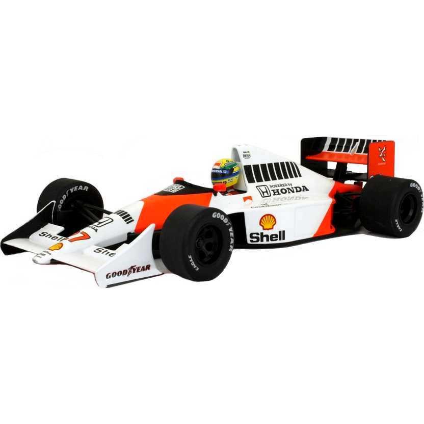Ayrton Senna McLaren Honda MP4/5B (1990) marca Minichamps escala 1/18