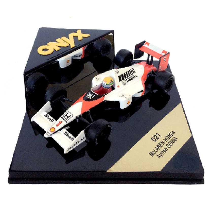 Ayrton Senna McLaren MP4/5 1989 Onyx escala 1/43