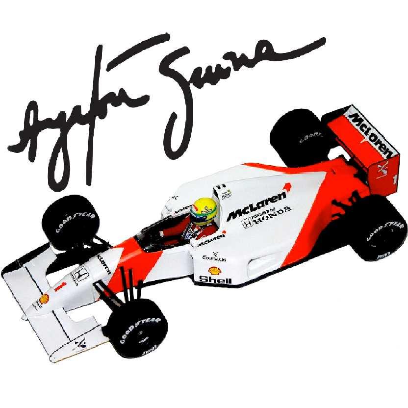 Ayrton Senna McLaren MP4/7 (1992) marca Minichamps escala 1/18
