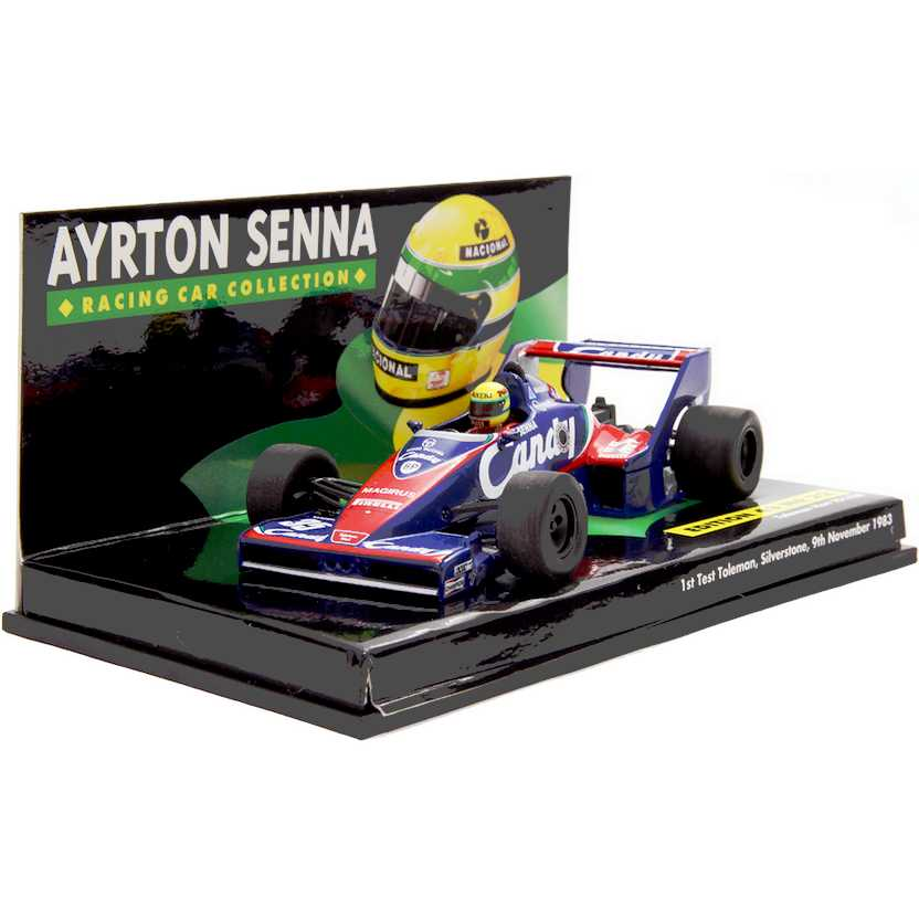 Ayrton Senna Racing Car Collection - 1st Test Toleman TG183B (1983) escala 1/43
