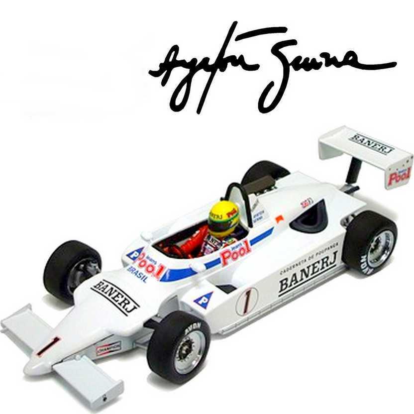 Ayrton Senna RALT RT3 TOYOTA (1983) Winner Thruxton - British F3 escala 1/18