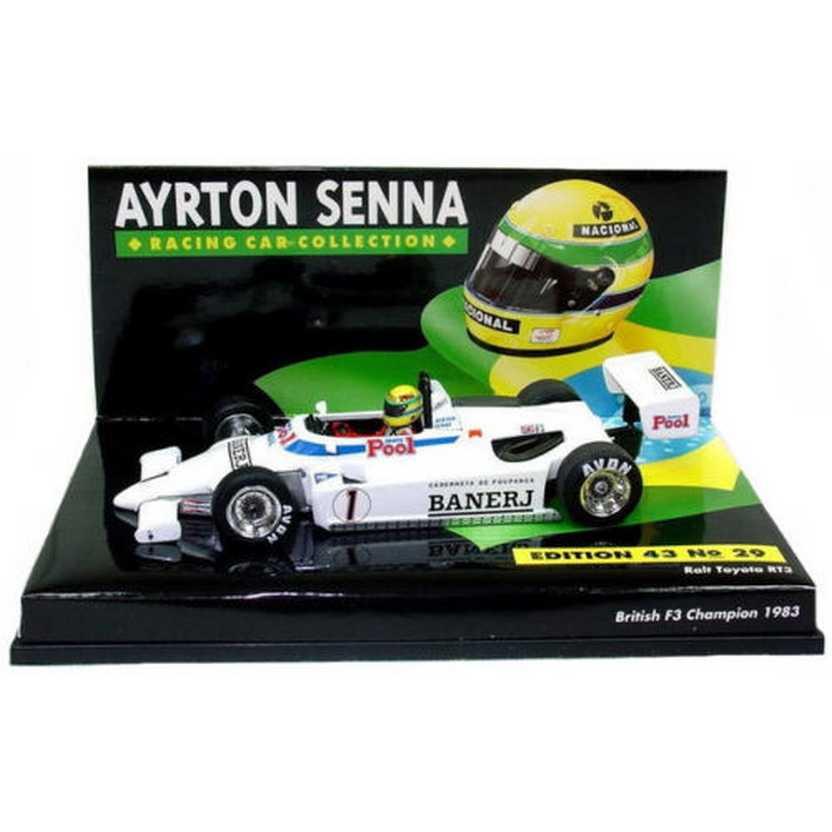 Ayrton Senna Ralt Toyota RT3 British F3 Champion 1983 - Minichamps escala 1/43