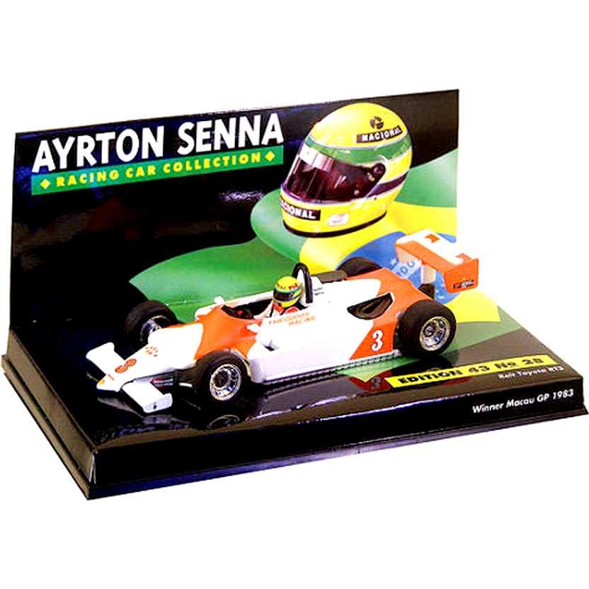 Ayrton Senna  Ralt Toyota RT3 Winner Macau GP 1983 540834313 RARIDADE