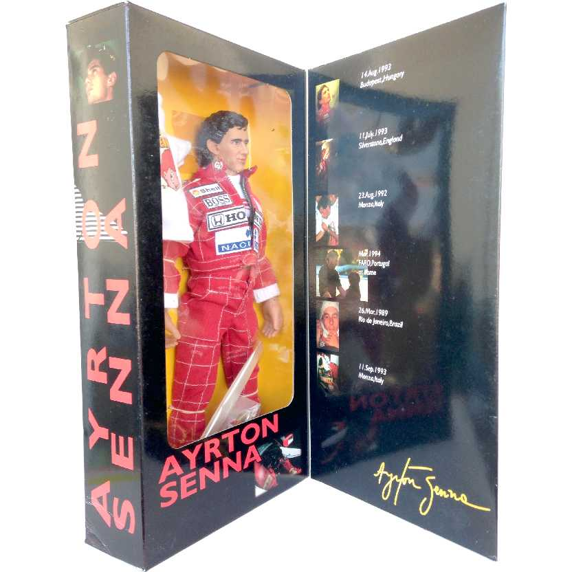 Ayrton Senna Takara escala 1/6 Made in Japan (RARO) Honda / McLaren