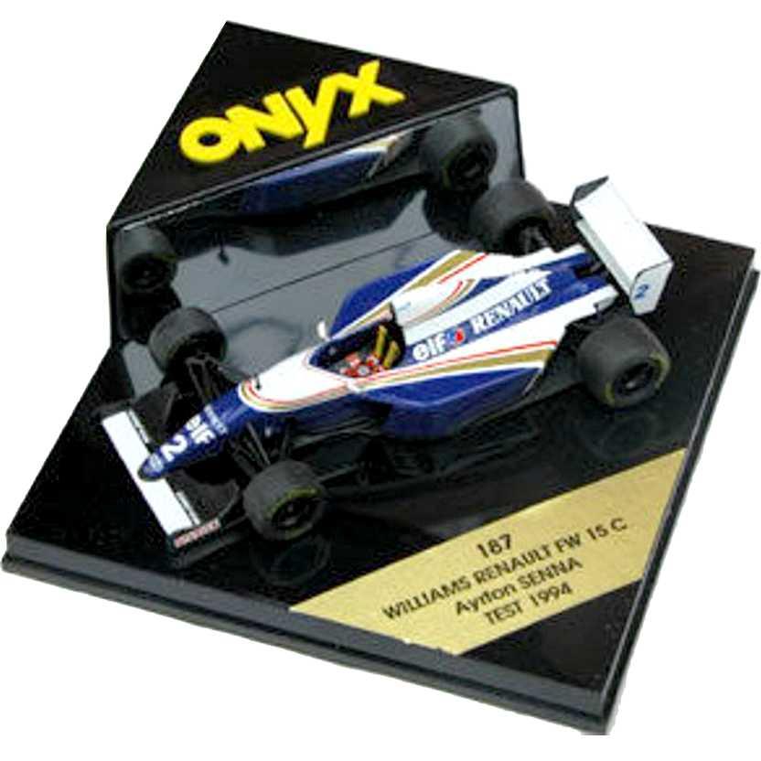 Ayrton Senna Williams Renault FW15 C 1994 Test - Onyx escala 1/43