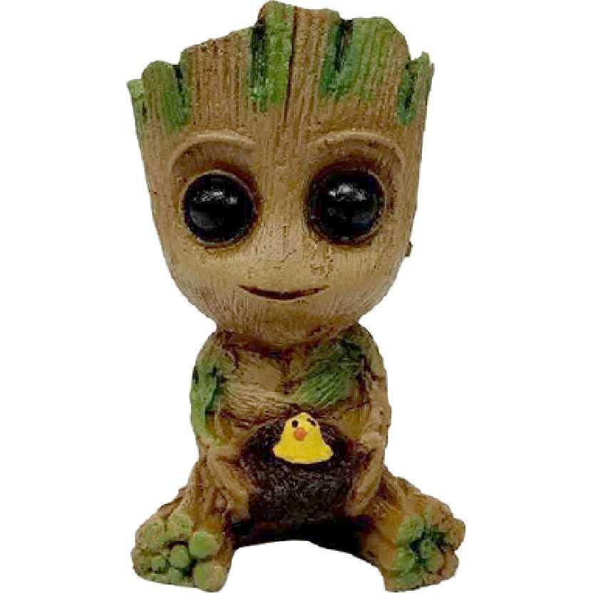 Baby Groot com ninho de passarinho (Guardiões da Galáxia) Eu sou um vaso Cachepot