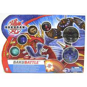 BakuBattle - Combat Pack (6 Bakugans) P/A