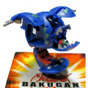 Bakugan B2 New Vestroia Aquos Leefram Azul (aberto)