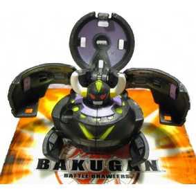 Bakugan B2 New Vestroia Darkon Shadow Vulcan preto (aberto)