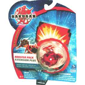 Bakugan B2 New Vestroia Hyper Dragonoid vermelho