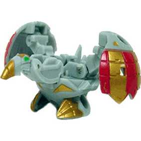 Bakugan B2 New Vestroia Luminoz  Wired cinza (aberto)